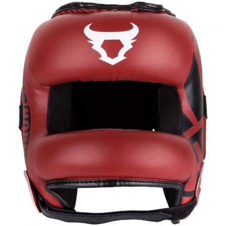 Ringhorns Шлем боксерский с Защитой Носа Nitro Красный