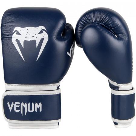 Venum Перчатки боксерские для детей Signature Темно Синее