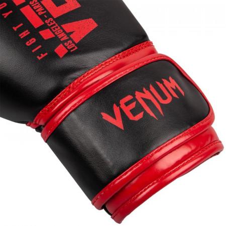 Venum Перчатки боксерские для детей Signature Черные