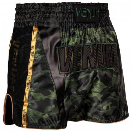 Venum Шорты Muay-Thai Full Cam Зеленые