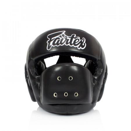 Fairtex Шлем Боксерский HG14 Черный