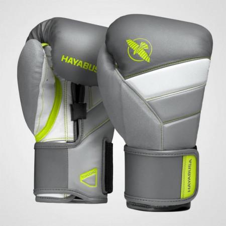 Hayabusa Перчатки Боксерские T3 Charcoal / Lime
