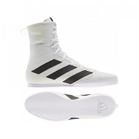 Adidas Боксерки Box Hog III Белые
