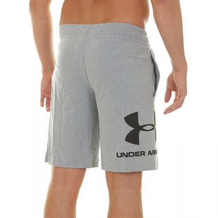 Under Armour Шорты Sportstyle Cotton Graphic Серые