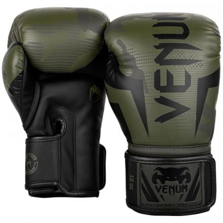 Venum Перчатки боксерские Elite Khaki
