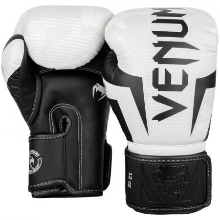 Venum Перчатки боксерские Elite White/Camo