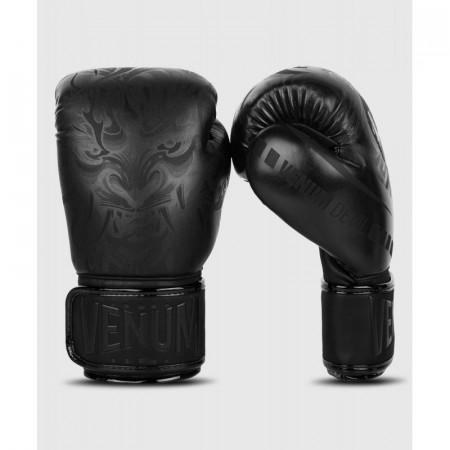 Venum Перчатки боксерские Devil Черные