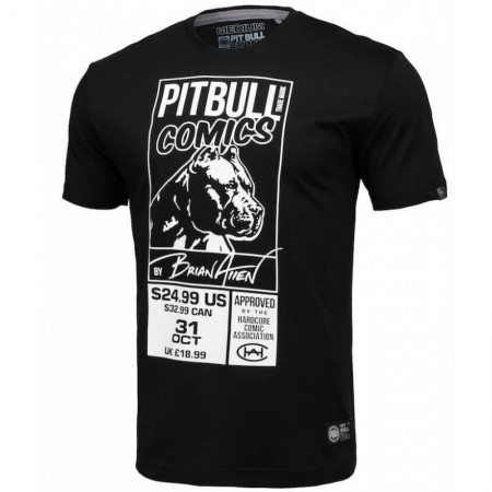 Pitbull T-shirt Comics