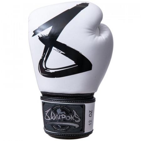 8 Weapons Перчатки боксерские BIG 8 White