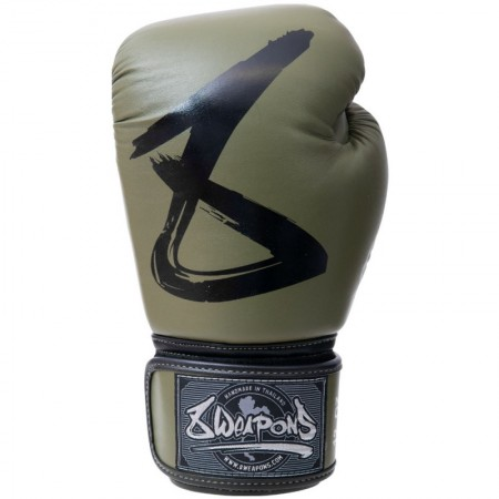 8 Weapons Перчатки боксерские BIG 8 Olive