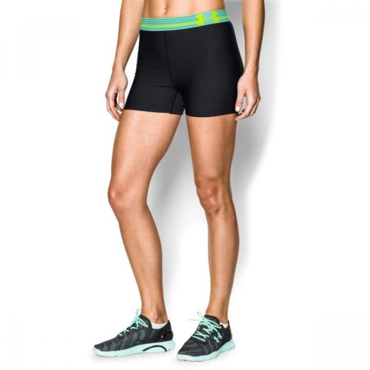 Женские шорты для тренировок Under Armour Alpha черно-зеленые