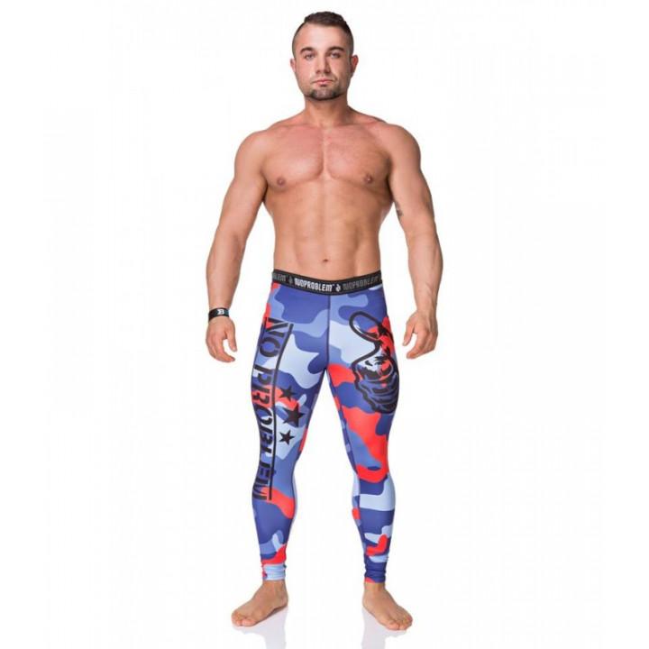 Компрессионные штаны NOPROBLEM CAMO
