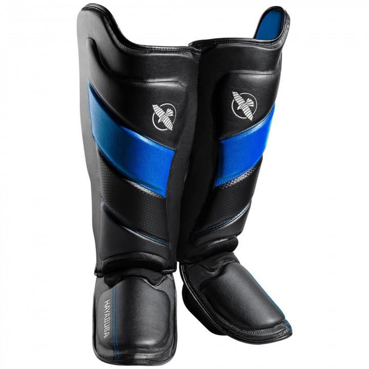 Защита голени Hayabusa T3 Striking черно-синяя
