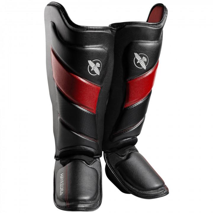 Защита голени Hayabusa T3 Striking черно-красная