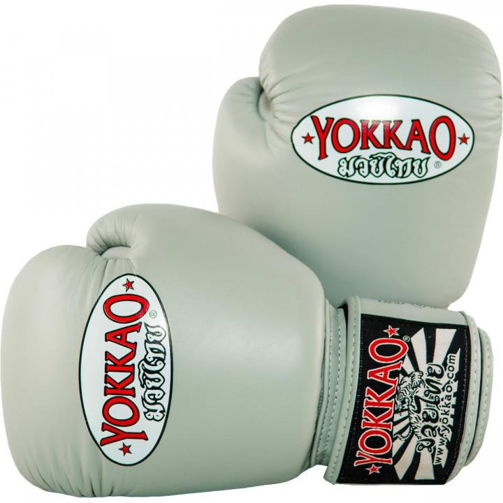 Yokkao Перчатки боксерские Matrix Серые