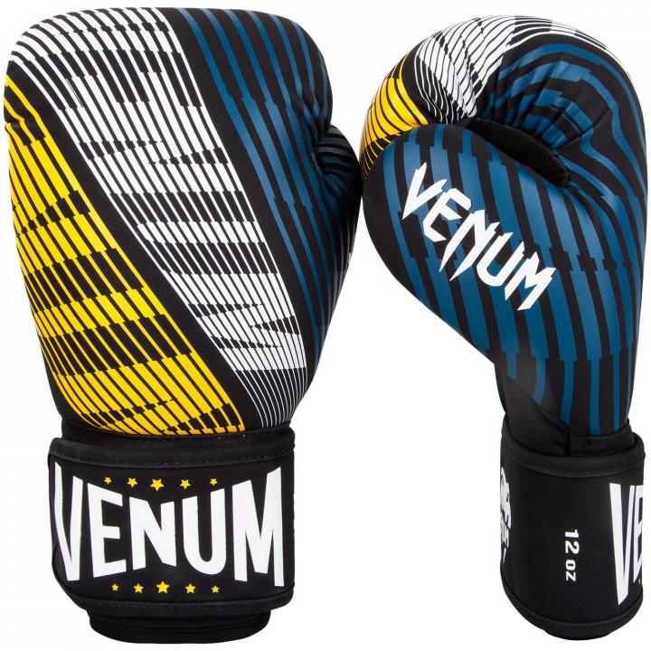 Venum Перчатки боксерские Plasma Черно / Золотые
