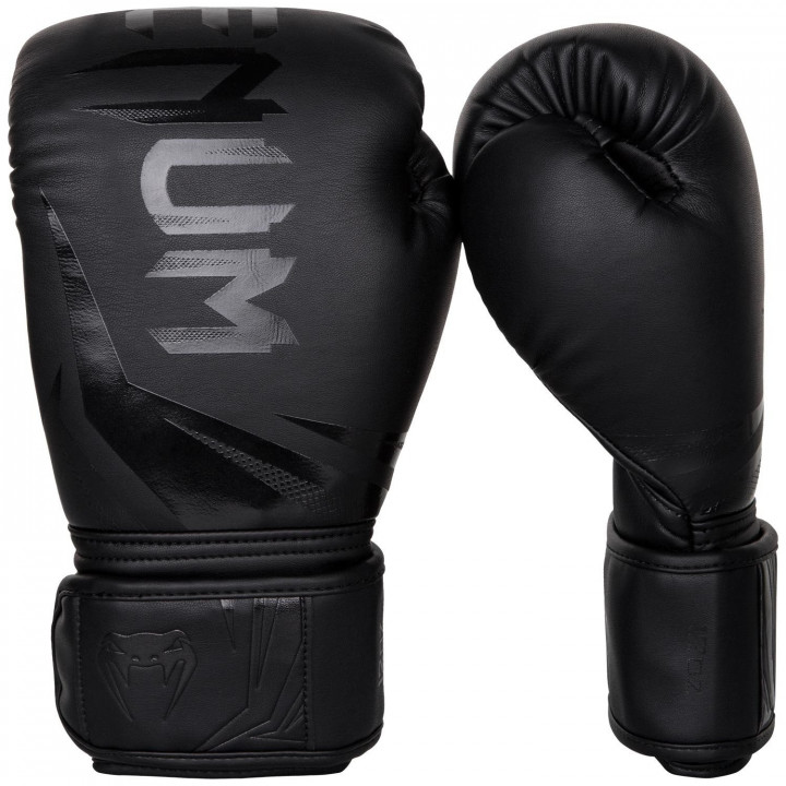Venum Перчатки боксёрские Challenger 3.0 Чёрный/Чёрный