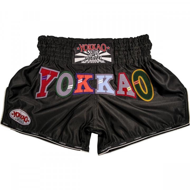 Yokkao Шорты для Тайского бокса Alpha Чёрный