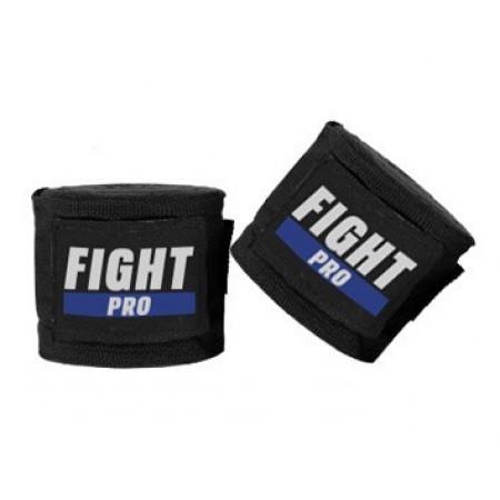 Боксерские бинты Fight Pro Basic черные