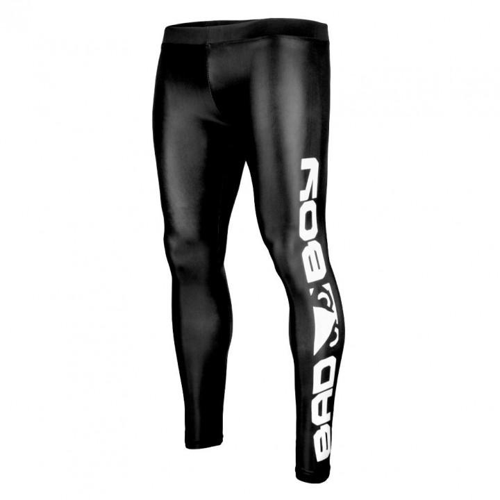 Компрессионные штаны от Bad Boy черно-белые