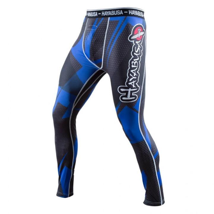 Компрессионные штаны Hayabusa Metaru синие
