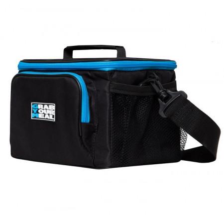 Спортивная сумка для еды Grab Your Meal 2BOX черно-синяя