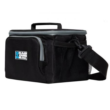 Спортивная сумка для еды Grab Your Meal 2BOX черно-серая