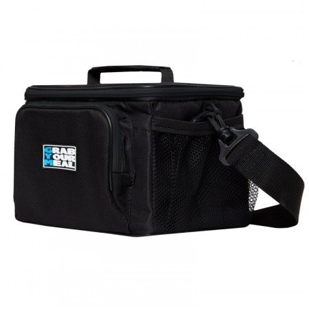 Спортивная сумка для еды Grab Your Meal 2BOX черная