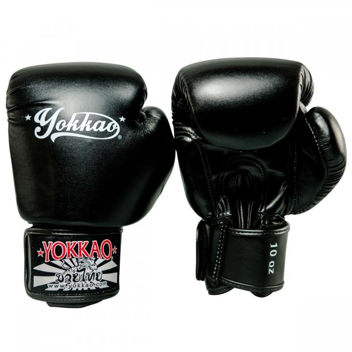 Yokkao Перчатки Боксерские Vertigo Черные