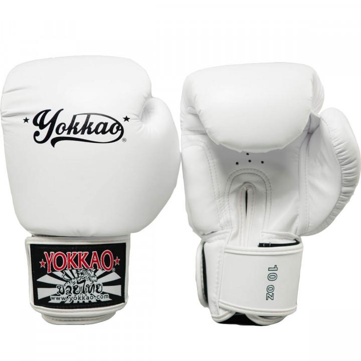 Yokkao Перчатки Боксерские Vertigo Белые