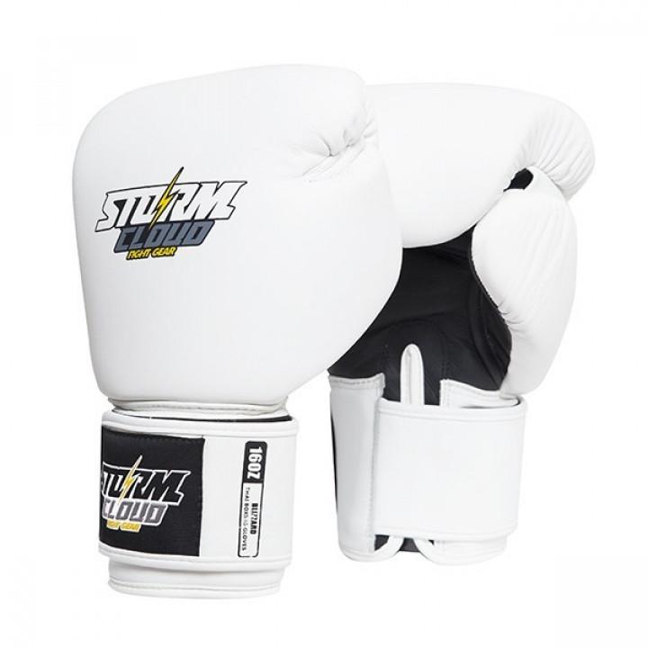 StormCloud Перчатки для Muay Thai Blizzard Classic Белые
