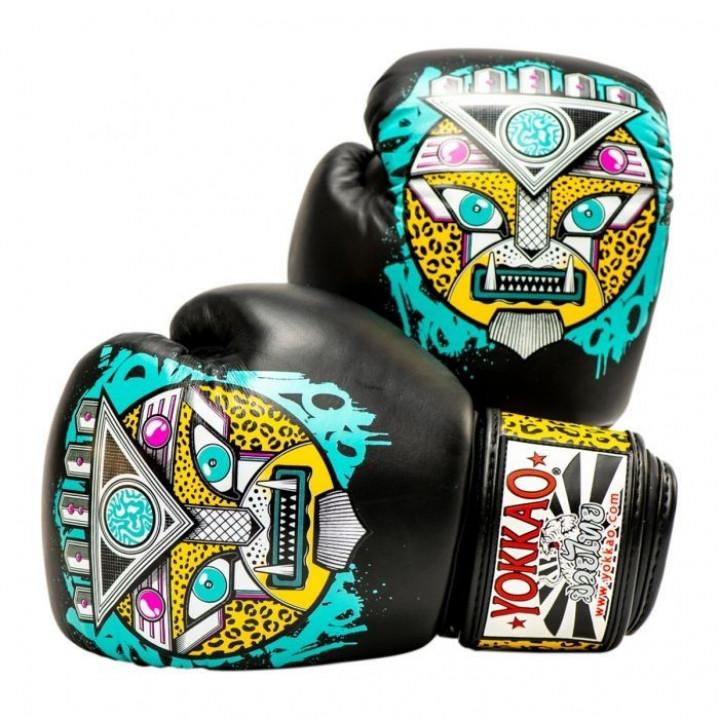 Боксерские перчатки Yokkao Apex Leopard
