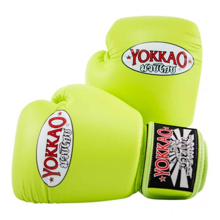 Перчатки боксёрские Yokkao Lime Punch