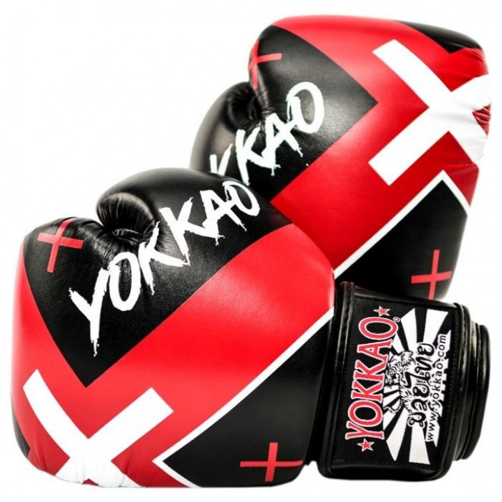 Yokkao Перчатки Боксерские X Черные