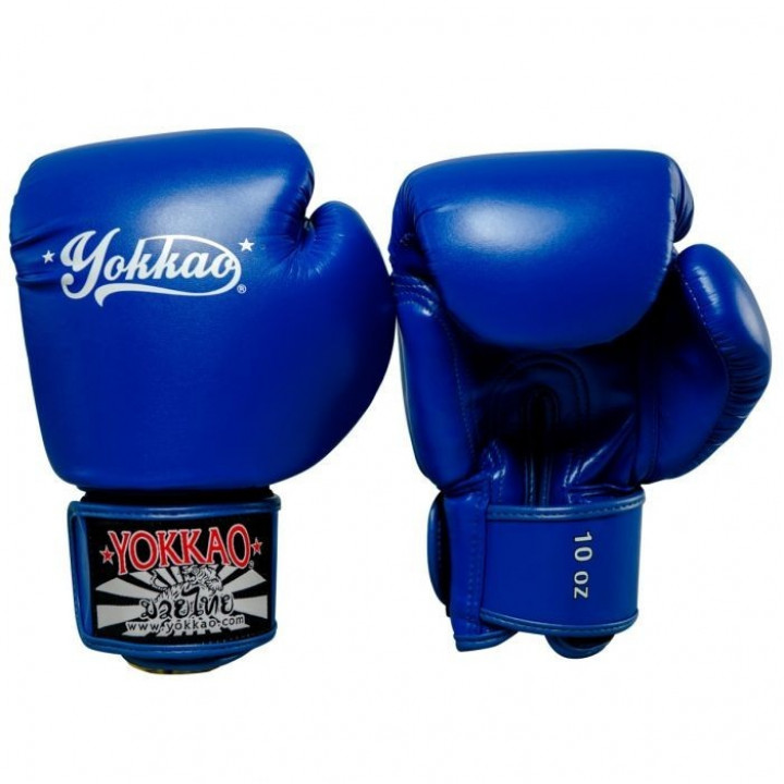 Yokkao Перчатки Боксерские Vertigo Синие
