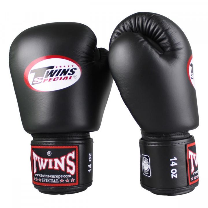 Twins Перчатки боксерские BGVL-3 AIR Черные