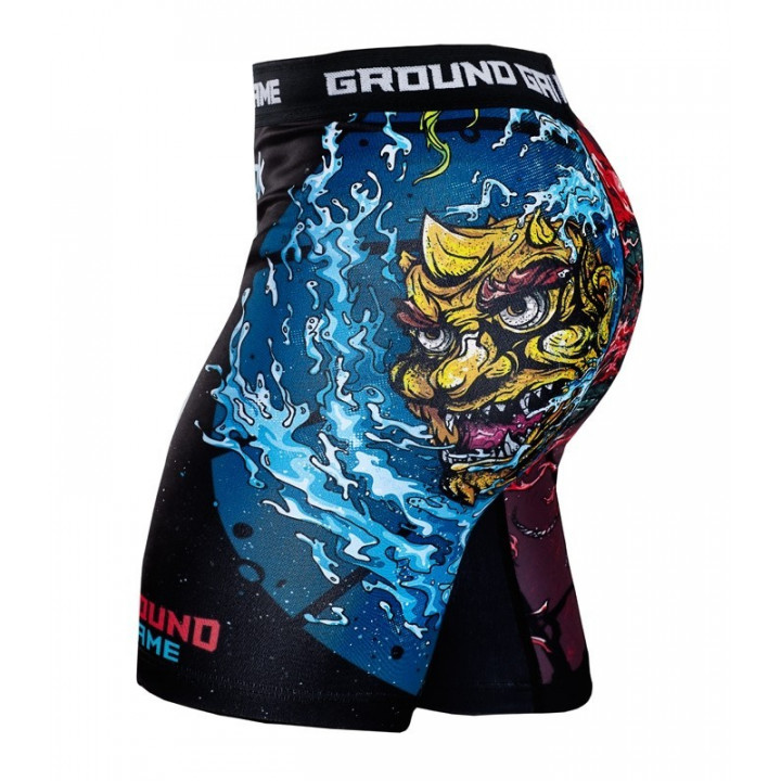 Компрессионные шорты Ground Game Bushido II черные