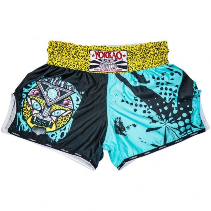 Yokkao Шорты для Тайского Бокса Apex Leopard