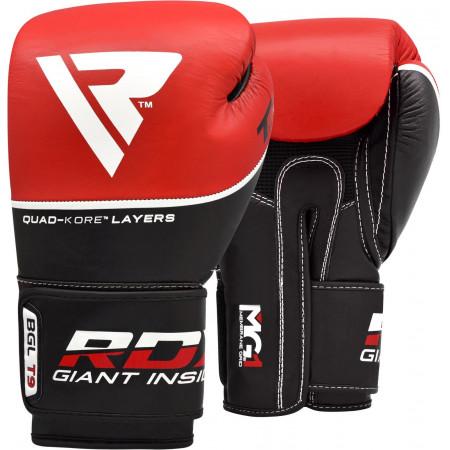 Перчатки боксерские RDX T9 красные