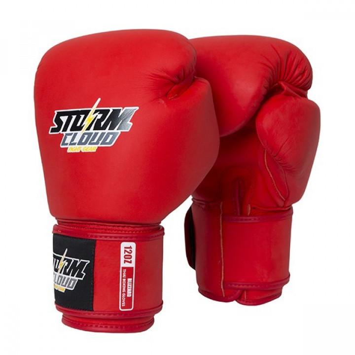 StormCloud Перчатки для Muay Thai Blizzard Classic Красные