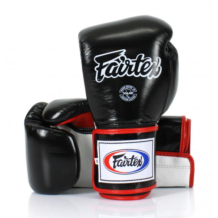 Перчатки Боксерские Fairtex BGV5 Черно- бело- красные