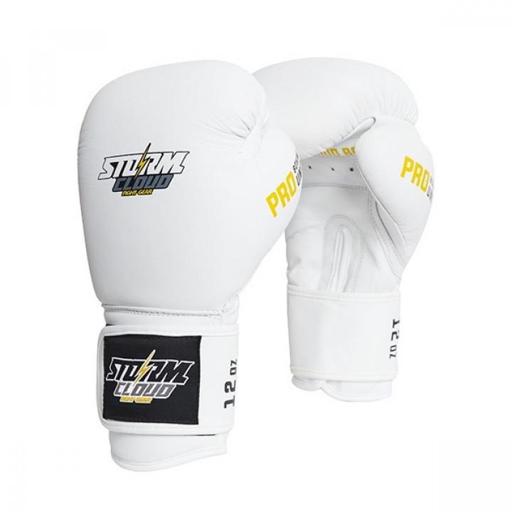 StormCloud Перчатки Боксерские Boxing Pro Белые