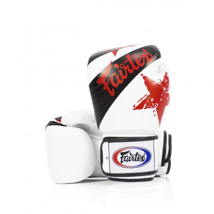 Перчатки Боксерские Fairtex BGV1 Nation белые