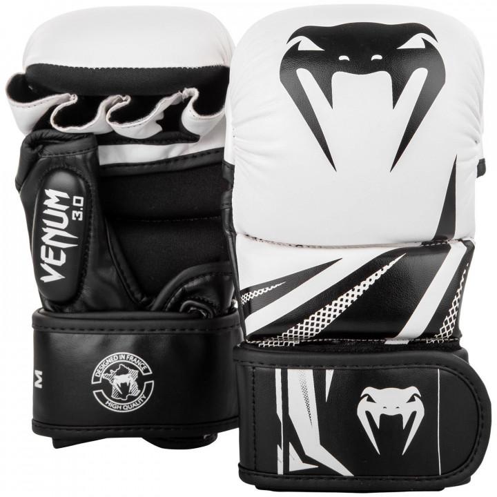 Перчатки для MMA Venum Challenger 3.0 бело-черные