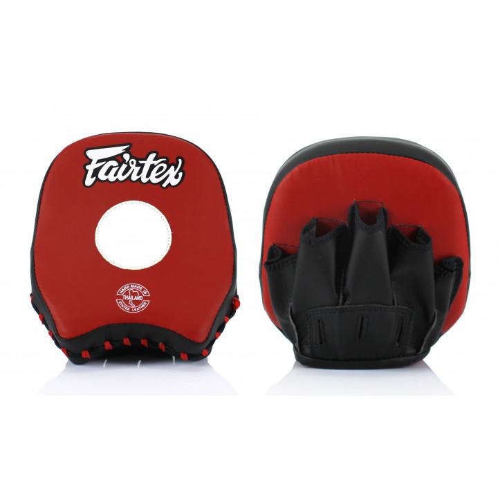 Fairtex Лапы Боксерские FMV14 Черно/Красные