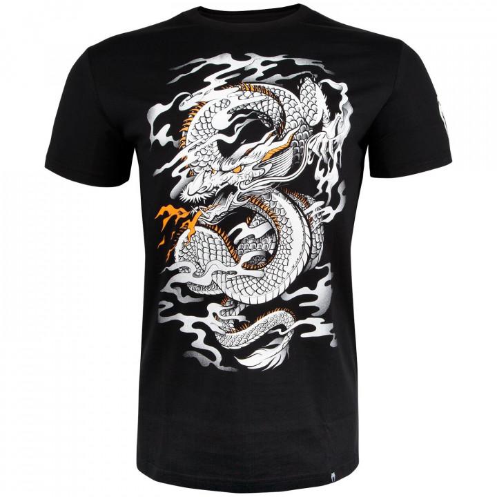 Venum T-shirt Dragon's Flight Черно/Белая