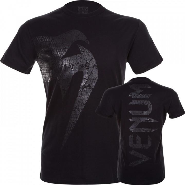 Venum T-shirt Giant Черная / Матовая
