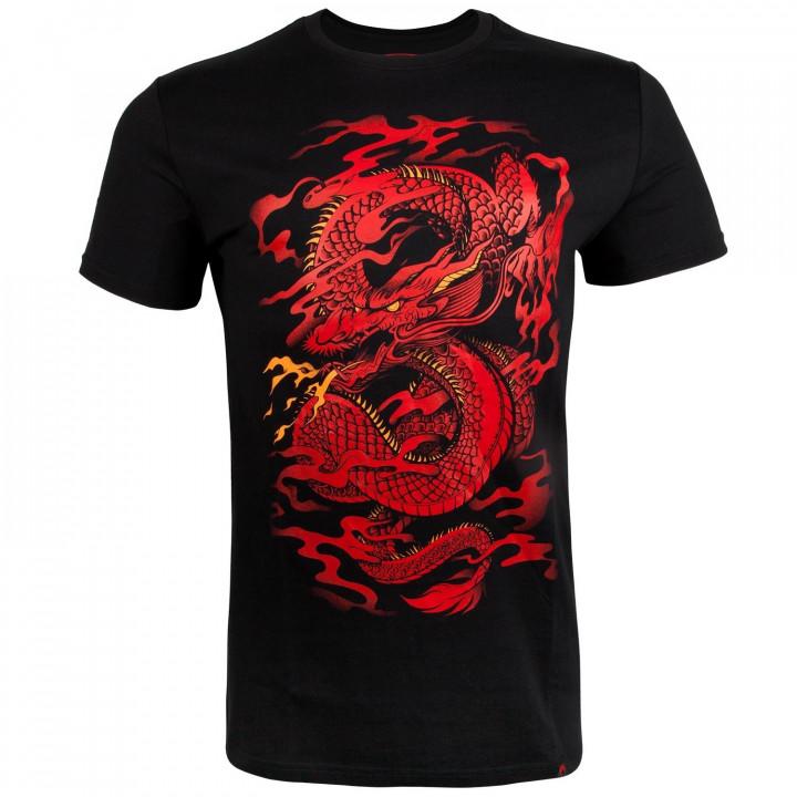 Venum T-shirt Dragon's Flight Черно/Красная