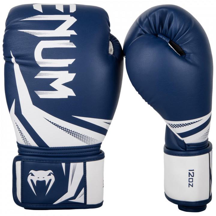 Venum Перчатки Боксёрские Challenger 3.0 Тёмно-синий/Белый