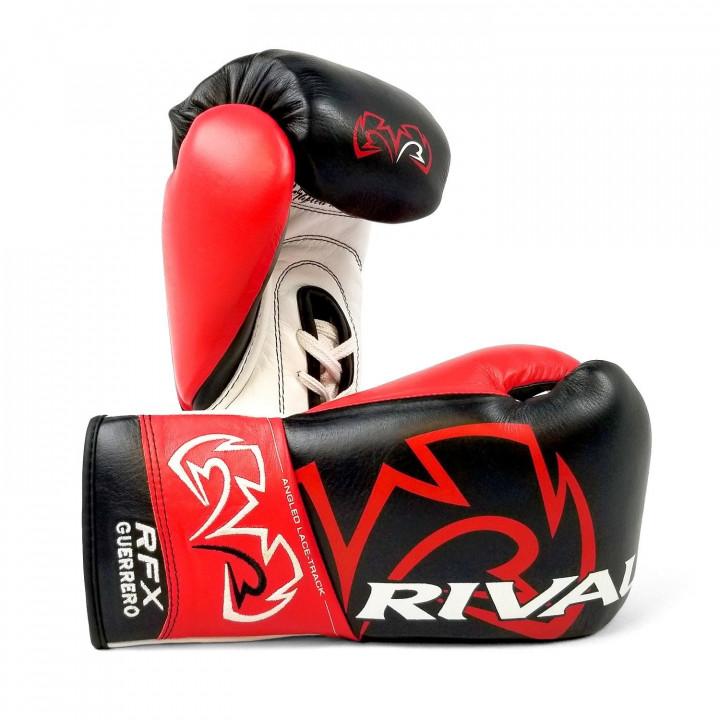 Перчатки Боксёрские Rival RFX-Guerrero Pro Fight HDE-F чёрные